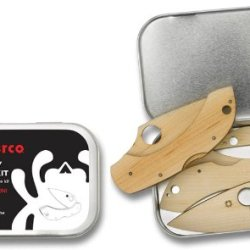 Spyderco Dragonfly Wooden Knife Kit
