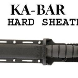 Ka-Bar #1216 Hard Knife Sheath