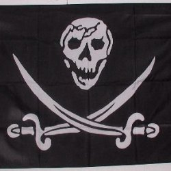 Pirate Flag - - - Skull + Daggers - - Brethren Of The Coast Flag - - Skeleton With Daggers And Swords