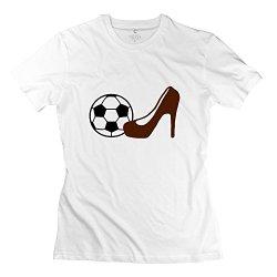 Aopo Women Soccer Tee Shirts For Womens