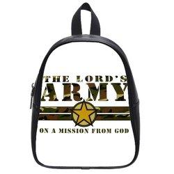 Jdsitem Creative Quotes Army Camouflage Camo Design Size L Backpack School Bag Satchel