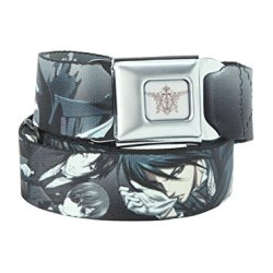 Black Butler Knife Seat Belt Belt