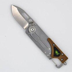 Sanrenmu Srm 6050Luf-Pv-T4 Multi-Function Edc Tools Pocket Folding Knife W/Led Light