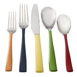 Fiesta 20-Piece Hacienda Enamel Flatware Set