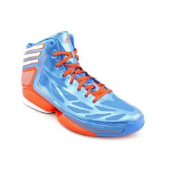 Adidas Men'S Adizero Crazy Light 2 Basketball Shoes-Bright Blue/High Energy-10.5
