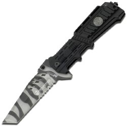 Mtech Usa M-A1001Uc Us Marines Urban Camouflage Blade Spring Assisted Knife, 5-Inch Closed Length
