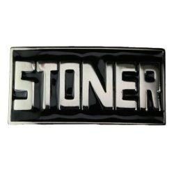 Cool Buckles - Stoner Hip Hop Rock N Roll Stoned Weed Pot Leaf Belt Buckle