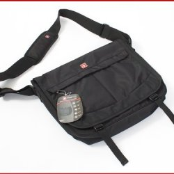 Swiss Gear Laptop Messenger Bag Black/Red Sa3322