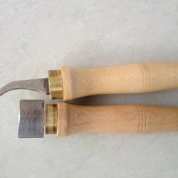 2 Pcs Of Professional Violin Making Tools For Luthier