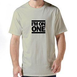 Ideal Im One Mens Tee-Shirt X-Small Natural
