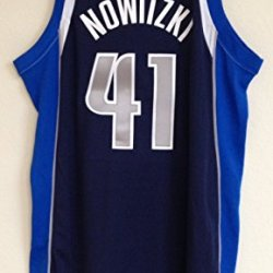 Adidas Dirk Nowitzki Dallas Mavericks Revolution Swingman Jersey Adult Size Xxl Navy Blue