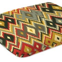 Jordan Manufacturing Knife Edge Mono Styel Seat Pad Cushion In Marva Volcano