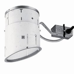 Juno Lighting Tc926R 6-Inch Non-Ic Rated Standard Slope Incandescent Remodel Housing