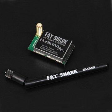 Fatshark Dominator 5.8GHz Receiver RX Module Color: Black Model: