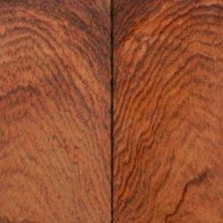"Rosewood Honduran Burl Swirly (2 Pc) Knife Scales 1/4""X1 1/2""X5"" 032"