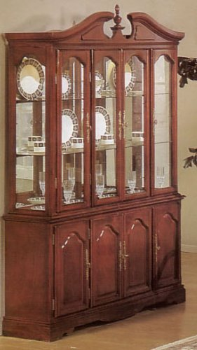Image of Chippendale Hutch/buffet (VF_AZ02-14230)