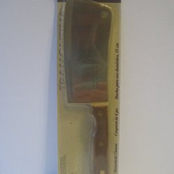 """Old Colony 6"""" Household Meat Cleaver Tramontina Stainless Steel With Wooden Handle"""