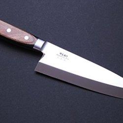 "Yoshihiro Vg-1 Stainless Steel Deba Fillet Butcher Japanese Chef'S Knife Yoshikuni Series 6.5""(165Mm)"