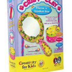 Craft With Clay - Mirror And Trinket Box