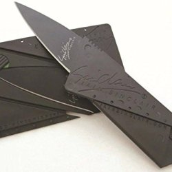 Lanfeld Iain Sinclair Cardsharp2 Credit Card Sized Folding Knife Metal Plastic Merger Easy To Carry A Variety Of Occasions To Use Black Blade 1 Pcs