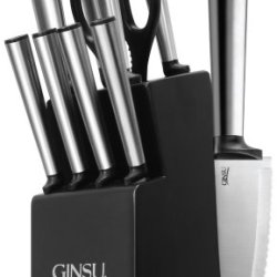 Ginsu 05250 Koden Series 10 Piece Cutlery Set With Black Block
