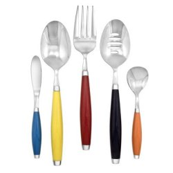 5-Piece Hostess Flatware Set Color: Multicolor