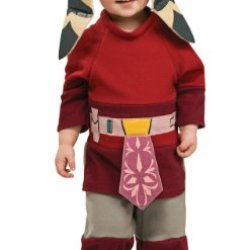 Star Wars Clone Wars Romper And Headpiece Ahsoka, Ahsoka, 6-12 Months