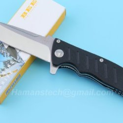 Classic Enlan El-01A Bee El-01A Folding Knife G10 Handle One Hand Open Camping Tool Gift