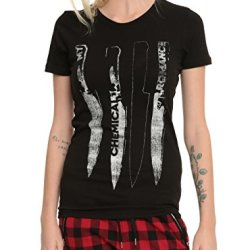 My Chemical Romance Knives Girls T-Shirt Size : Large