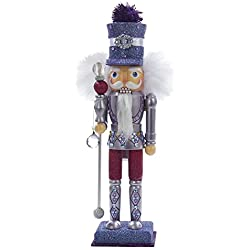 Kurt Adler Purple Hollywood Nutcracker, 15-Inch