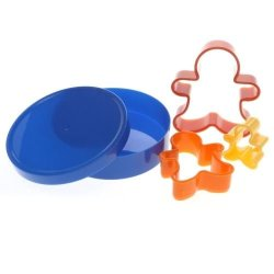 Cookie Cutters Ginger Bread Man Set Of 3 In Tub