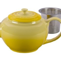 Le Creuset Stoneware Large Teapot With Stainless Steel Infuser