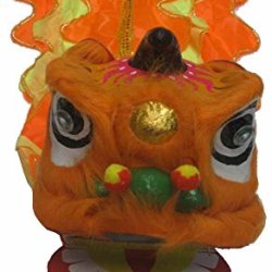 Chinese New Year Lion Dance Set For Children Orange