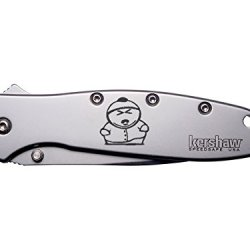 Southpark Cartman Push Engraved Kershaw Leek 1660 Ken Onion Design Folding Speedsafe Pocket Knife By Ndz Performance