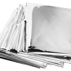 Made In The Usa Emergency Mylar Blankets (Pack Of 10) - High Quality - Thick