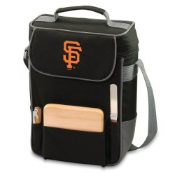 Mlb San Francisco Giants Duet Insulated 2-Bottle Wine And Cheese Tote