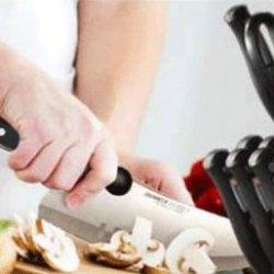 World Class 18-Piece Knife Set With Wood Block
