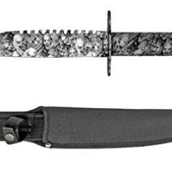 """14.5"""" Zombie Killer Survival Knife - White"""