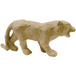 "Paper Mache Figurine 4.5""-Tiger"