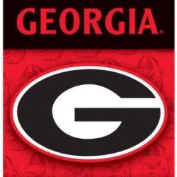 Ncaa Georgia Bulldogs Indoor Banner Flag Scroll Wall Scroll