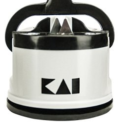Kai Ap0130 Pull Through Knife Sharpener, Gray/Black