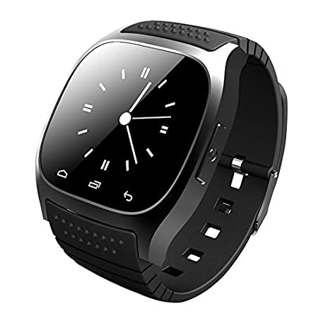 "This is a new Bluetooth Smart M26 Watch which is compatible with all Bluetooth V2.0 or above enabled smartphones, tablets and PCs (support Android 2.3 or above), such as iPhone 4, 4S, 5, 5S, Sumsung S3, S4, Note 2, Note 3, Note 4 etc. Features 1.48"" ..."