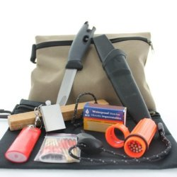 Vas Light My Fire Bag W/ Swedish Fire Knife ® & Swedish Fire Steel ® - Emergency Fire Starter Kit