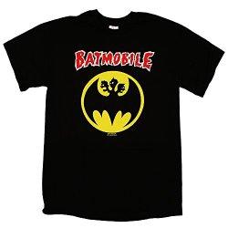 Batmobile - Batmosignal Logo - Mens T-Shirt, Size: Medium, Color: Black