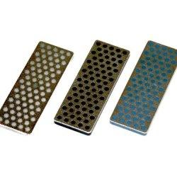 Dmt Ws7K2 Mini Diamond Ski And  Snowboard Stone - Kit Of 3 Stones In Coarse, X Coarse, And Xx Coarse