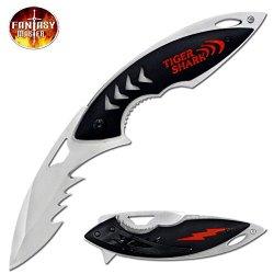 "Fantasy Master ""Tiger Shark"" Ao Folding Knife - 8.5 Inches"