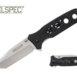 "Milspec 8"" Spring Assisted Folding Rescue Pocket Knife"