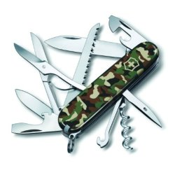 Victorinox Swiss Army Huntsman Pocket Knife, Camo