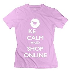 Aopo Keep Calm Shop Online T Shirts For Womens