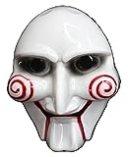 SAW-ソウ ビリー人形風 マスク お面 ジグソウ・キラー(Jigsaw Killer) ハロウィンや学園祭のお化け屋敷で皆を驚かそう!コスプレ衣装・..